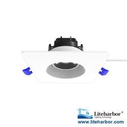 """Liteharbor 3"""" Square Rotatable LED Eyeball Downlight"""
